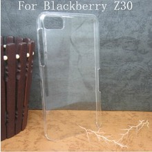Wholesale Clear transparent TPU Back Cover Phone Case For BlackBerry Z30