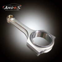X Beam Forged Connecting Rods for Toyota Hilux/Innova/Hiace 2.5L 2KD 2KD-FTV Conrods