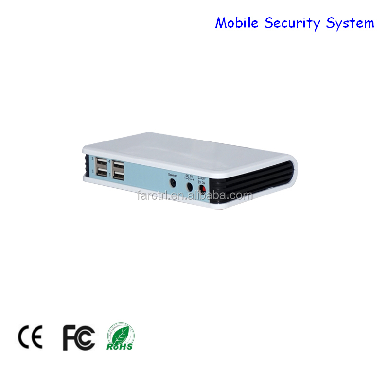 Wholesale shop 5V 10A alarming smart mobile security display system for cell phone/tablet pc
