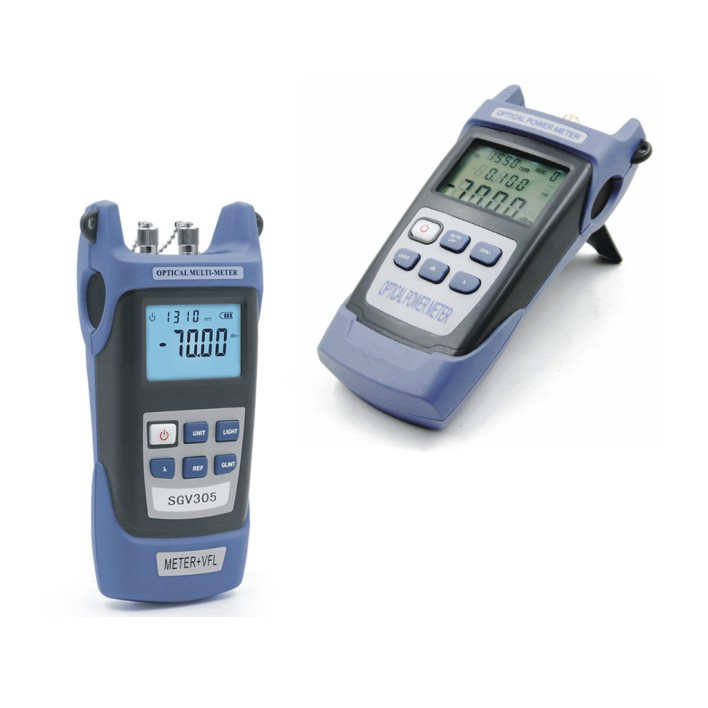 Optical Fiber Test Outil ToolKit/Optic Fiber Loss Tester Optical Power Meter+ OLS Laser Source 10km