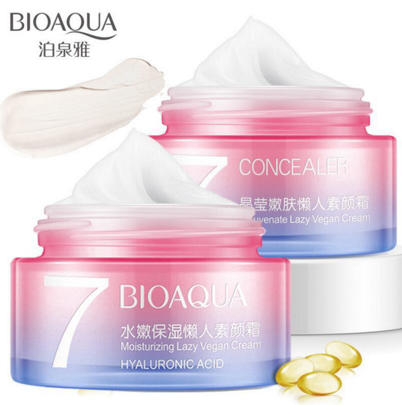 BIOAQUA Face <strong>Cream</strong> moisturizing to remove Dark Spots Freckle <strong>Cream</strong> Whitening Anti Aging wrinkle Concealer Sunscreen V7 Skin Care