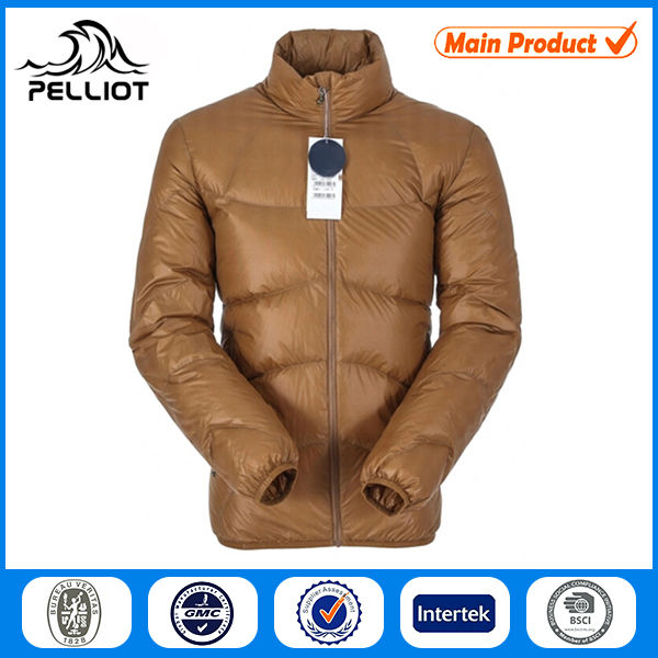 Ultralight Zip-up Short padded jacket