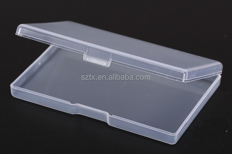 9.2*5.8 transparent plastic case for card and business card