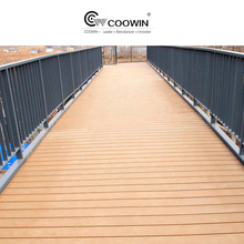 anti-rotting wpc flooring/outdoor decking