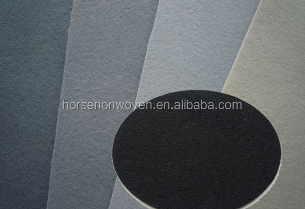 auto internal decoration/automotive fabric polyest felt