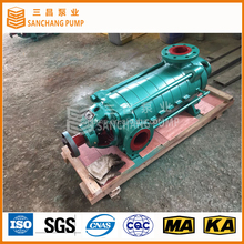 Horizontal multistage high rise water pump for the high building water supply