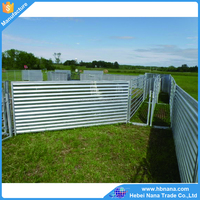 Australia Factory selling cheap price good quality galvanized steel farm gate / Steel Pipe Farm Gates