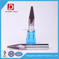 Delevel Solid Carbide Thread End Mills Milling Cutter