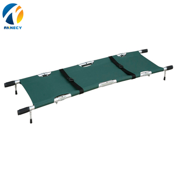 AC-FS008 new medical products hospital emergency four folding stretcher for sale