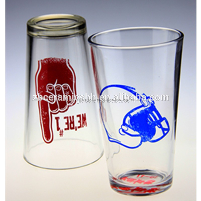 High quality transparent drinking plastic mini beer mug shot glass