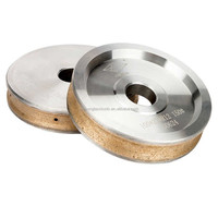 Metal bonded grinding diamond wheel for glass cutting
