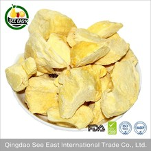 Chinese Supplier FD Fruits Freeze Dried Durian Chips