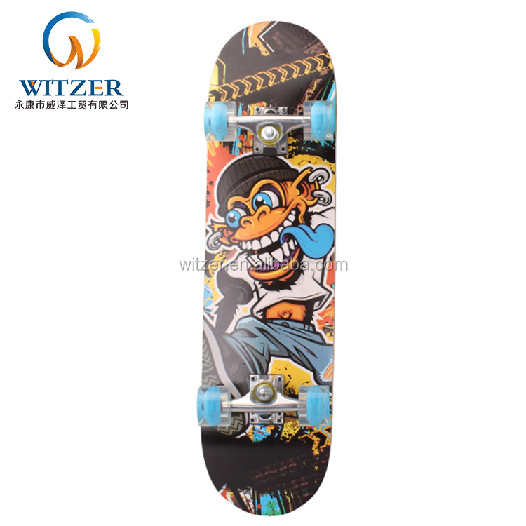 Professional Chinese Supplier Excellent Material Skateboard Young