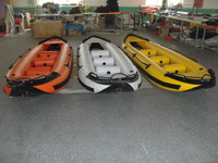 Beautiful Fishing Recreation PVC inflatable kayaks,inflatable boat for sale