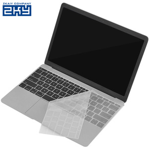 EU/UK/US Transparent Clear Protector Skin Silicone Keyboard Cover For Macbook