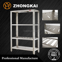 restaurant furniture stainless steel kitchen storage shelf / rack
