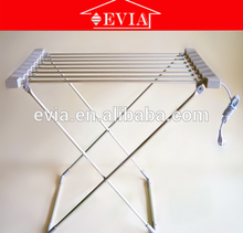 2016 Hangzhou EVIA indoor aluminum 120w folding heated electric clothes drying rack