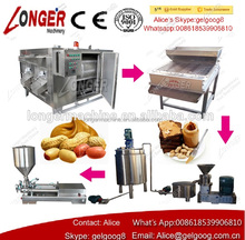 SUS304 Industrial Equipment Peanut Butter Making Machinery Peanut Butter Grinding Production Line