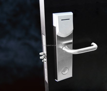 Electronic RF hotel card door lock access control with free hotel software