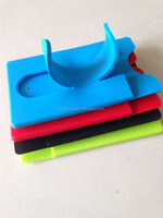 mobile phone holder silicone bag sticker for cell phone card bag silicone smart wallet