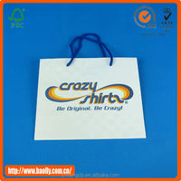 Professional Durable Brown Paper Carry Bags With Fancy Structure