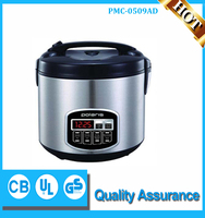 home use small size 650W 5 Liter Electric Rice Cooker Multi Cooker from Midea Factory or OEM services