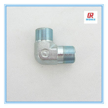 "Nantong Roke Straight Thread Male Elbow 1/4"" NPS Carbon Steel Hydraulic Fittings"