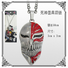 New Style Hot Kurosaki Ichigo mask Bleach Necklace Wholesale Fashion Anime