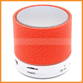 Wireless Bluetooth Night Light Color Round Tube Mobile Phone Speaker