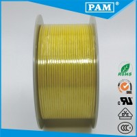 Used in electrical home appliances 18AWG fiberglass braid silicone rubber insulation cable
