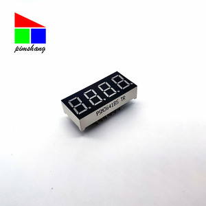 Factory Price Manufacture Nixie Tube 0.36 Inch 4 Digit 7 Segment LED Display
