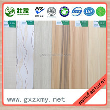 18MM China Melamine Face Fir Wood Timber Supplier