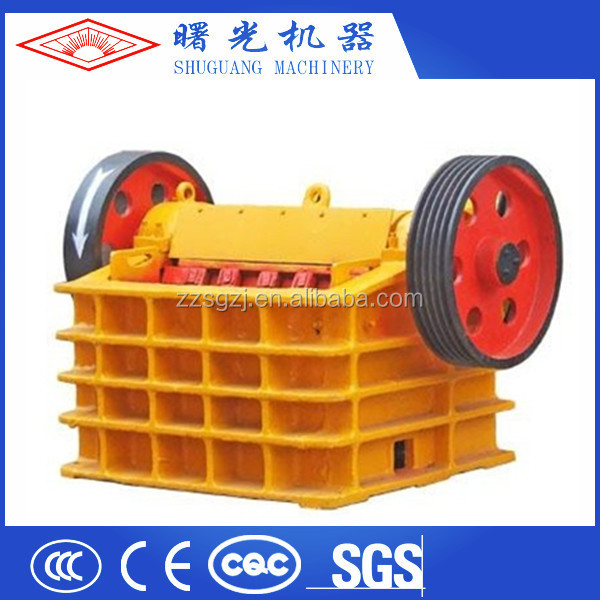 Good structure reliable operation low cost jaw crusher
