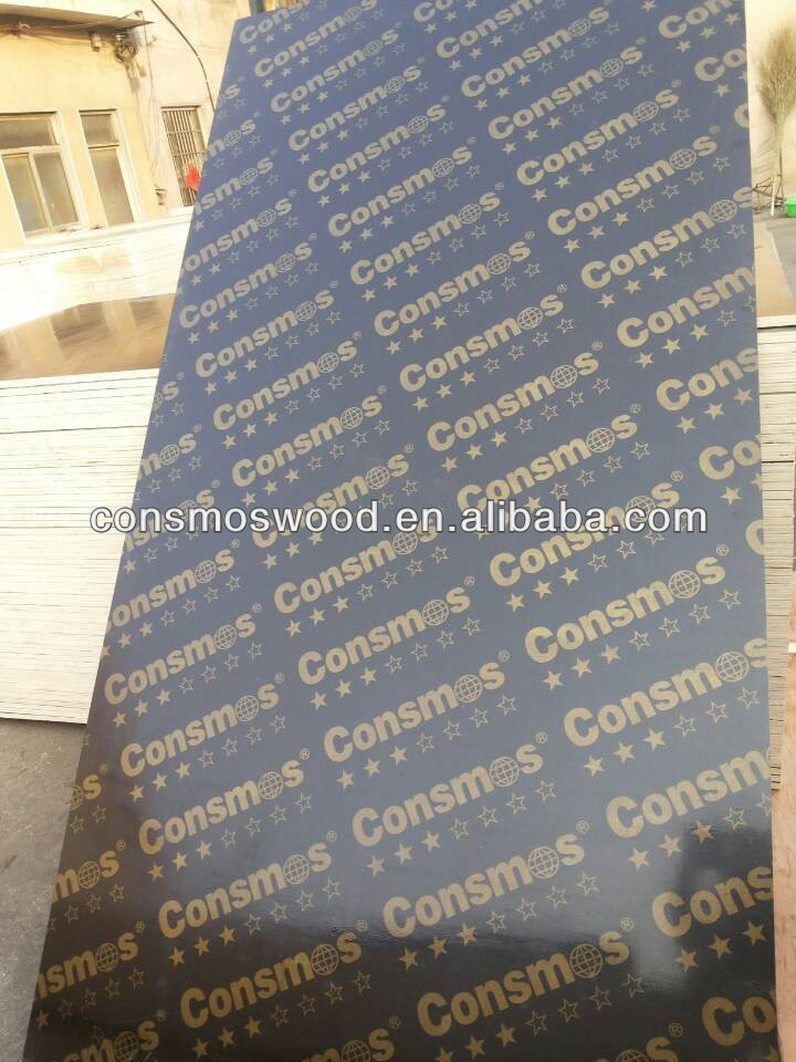 12mm aluminum faced plywood,phenolic bp film faced plywood with brand
