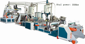 Extruding Machine Production Line makes PET Sheet