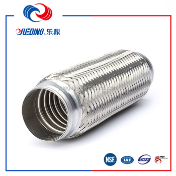 exhaust pipe for car braided flexible pipe