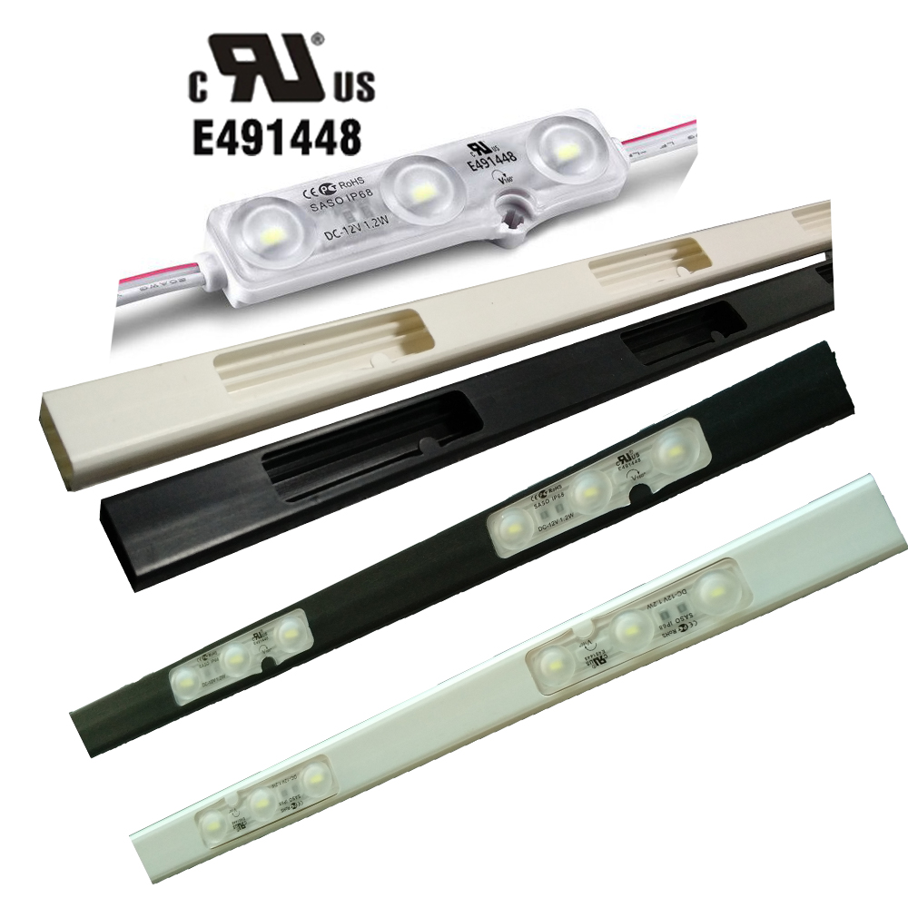 ul list led module track smd 5730 120 160 degree beam angle led border light