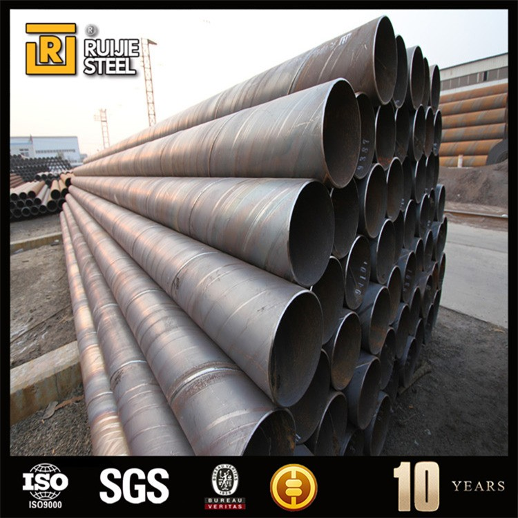 API 5L spiral pipe/spiral steel pipe/large diameter steel pipe cast iron prices per kg