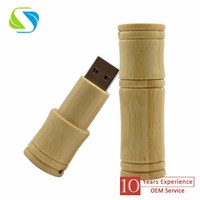 2016 best selling promotional custom logo full printed wooden bamboo promotion usb flash