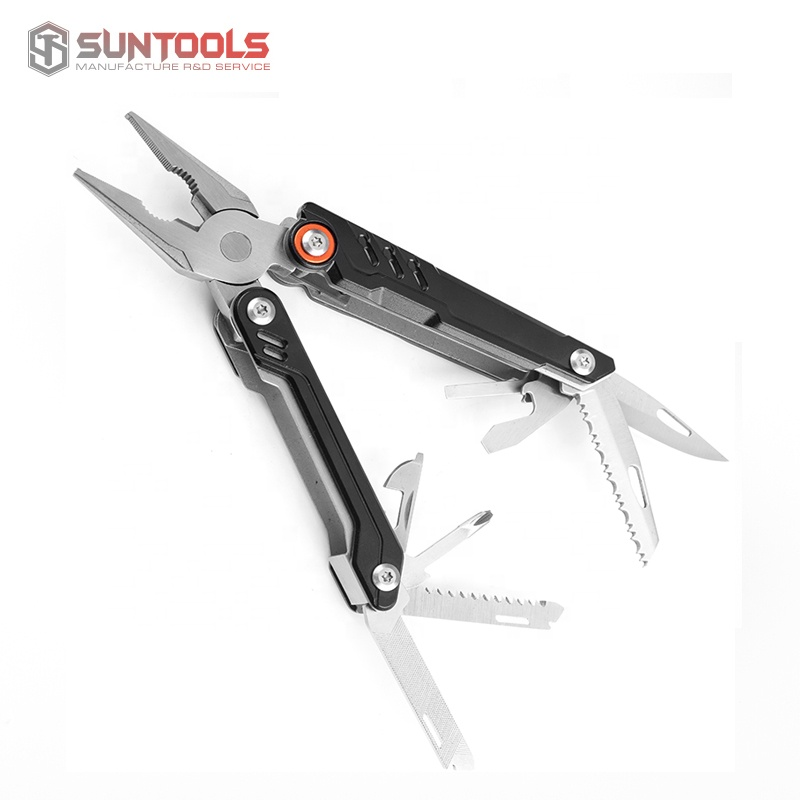 New arrival multi foldable plier camping tools with aluminum handle