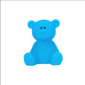 plastic glue blue bear night light