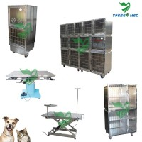 veterinary clinic customizable dog transport show cage