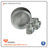 stainless steel high pressure cap pipe fitting