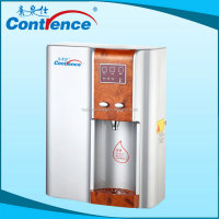 small water cooler with mini fridge for convenience