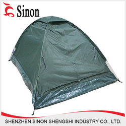 China supply wholesale Polyester camping tent 3 person tent