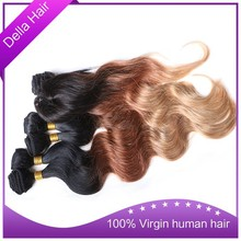 wholesale price fast shipping china raw unprocessed brazilian body wave human hair extension 6pcs weft +1pc closure