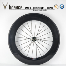 chinese carbon clincher wheelset 38/50/60/88mm 700c carbon road wheels