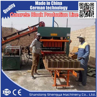 Hydraform QT5-20 german concrete block making machine factory and concrete block making machine for sale