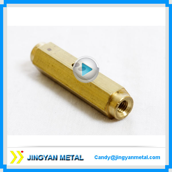 Electrical Terminal Brass Dowel Pins with thread