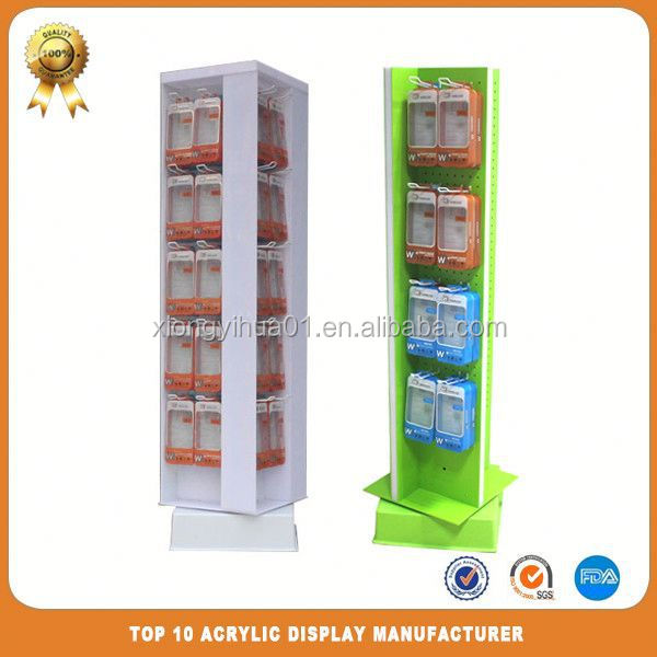 clear plastic paper stand
